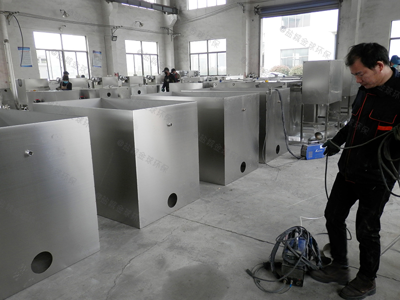 三门峡游乐场智能隔油提升一体化设备原理图