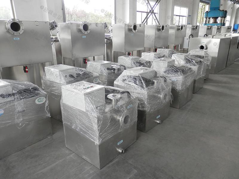 信阳304不锈钢板隔油提升一体化设备设计规范