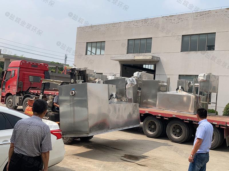 郑州四级过滤隔油处理装置直销