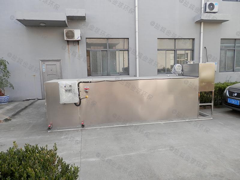 河南餐馆隔油器图纸