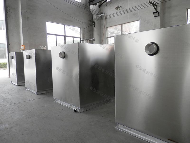 三门峡学校智能隔油提升一体化设备处理能力