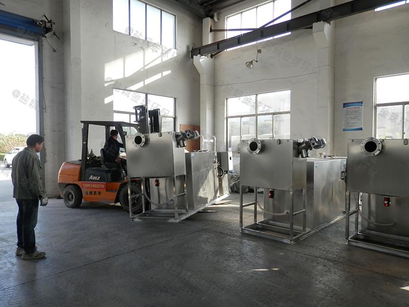 许昌餐饮业隔油设备构造做法