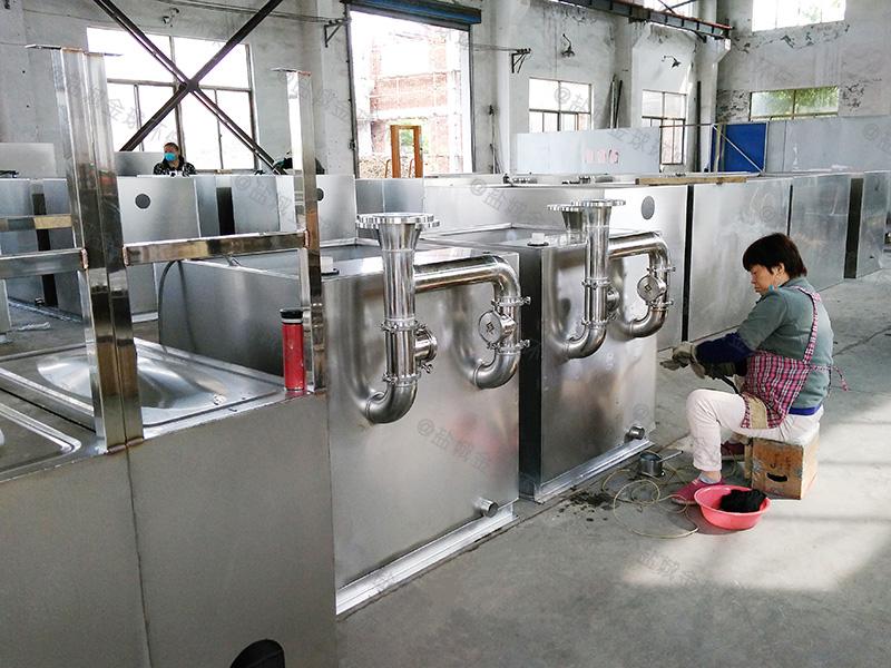 河南工地大型餐厨垃圾油水分离机案例