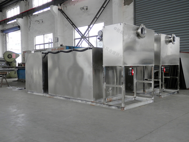 濮阳地上隔油提升一体化设备的原理图解