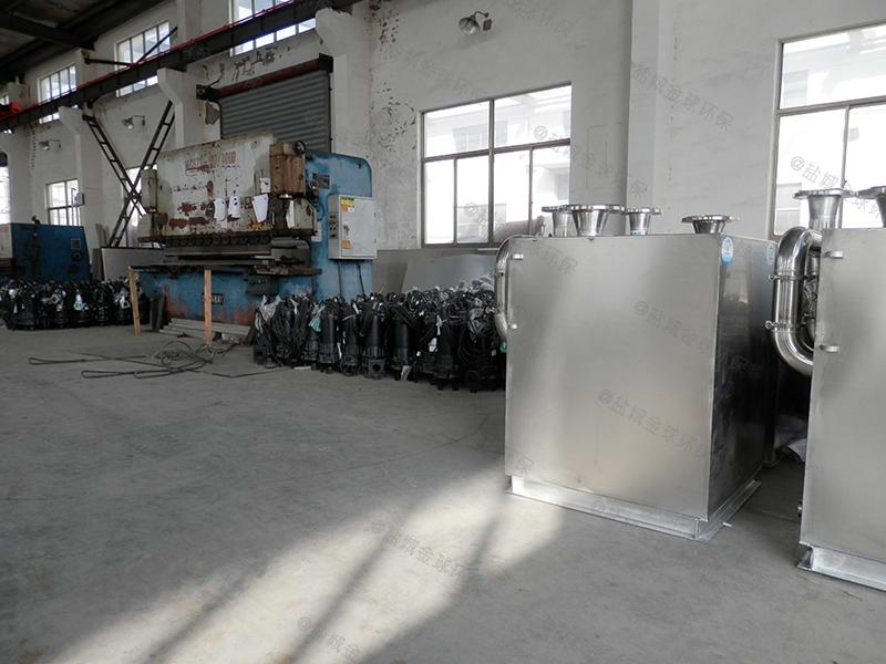 信阳餐饮电动厨余油水分离器标准要求