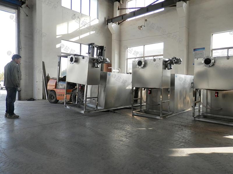 商丘餐饮业油水分离器施工图