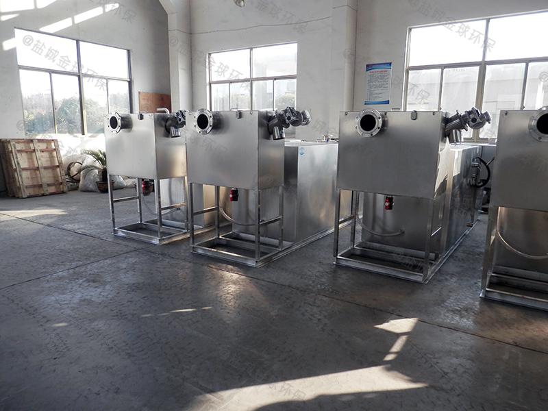 漯河小型餐厨垃圾油水渣自动分离长宽比