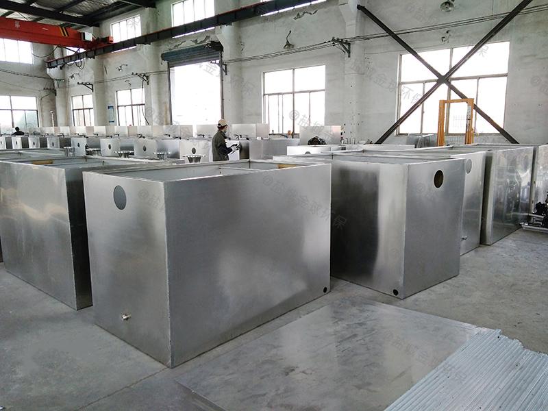 许昌工程一体化隔油污水提升设备cad图