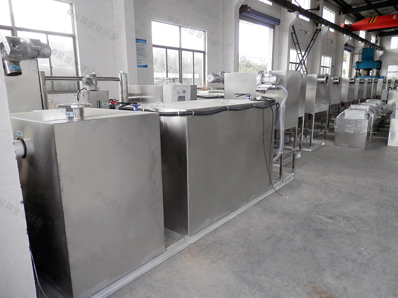 驻马店餐饮业隔油提升一体化设备效果