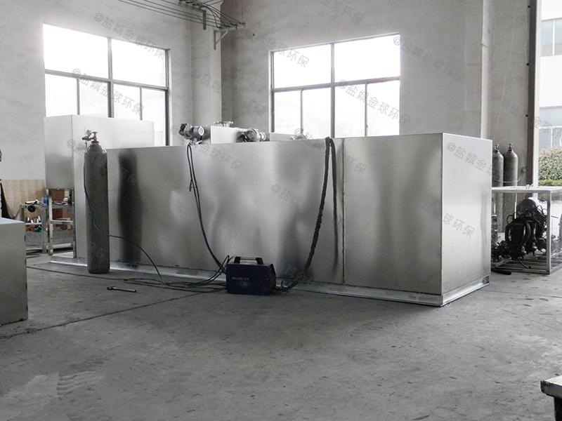 郑州刮油酒店厨房下水道油水分离标准尺寸