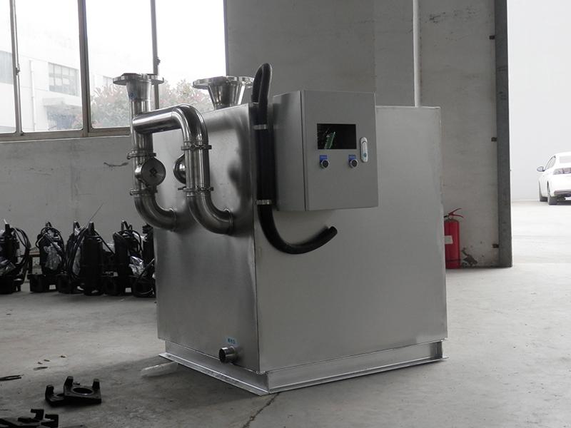 焦作工程一体化隔油污水提升设备做法视频