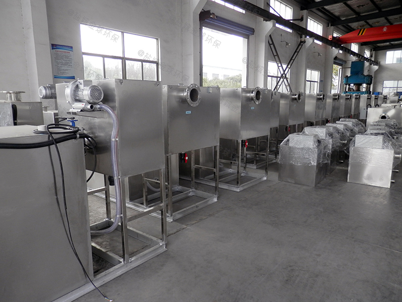 南阳餐饮泔水一体化隔油提升设备图集