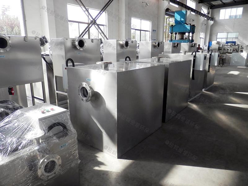 许昌工业园区餐厨油水分离处理器安装