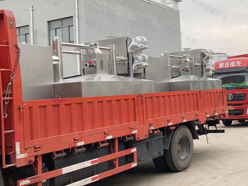 信阳多级隔油提升一体化设备直供