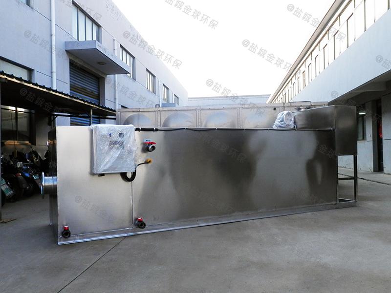 洛阳火锅店专用厨余油水渣分离设备种类