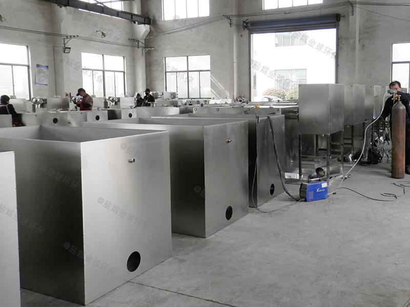 鹤壁小区生活污水隔油器去除效率