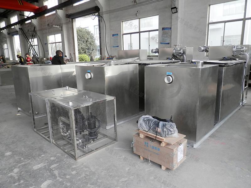 新乡小饭店一体化隔油提升设备隔离原理