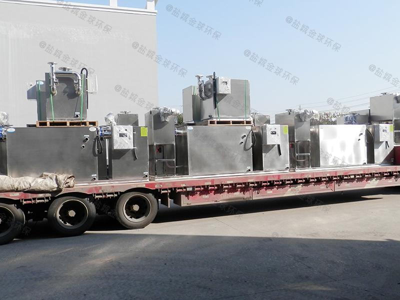 开封滤网设计隔油处理装置不堵塞