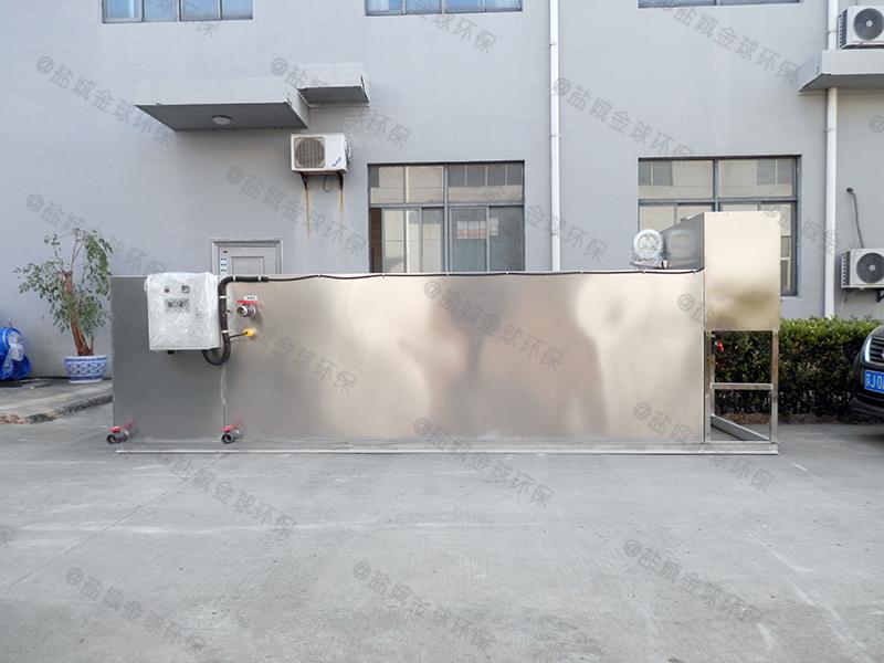 鹤壁厨房油水分离器容积