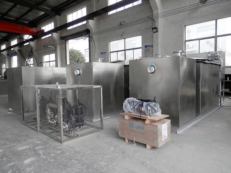 漯河大型超市一体化隔油污水提升设备图