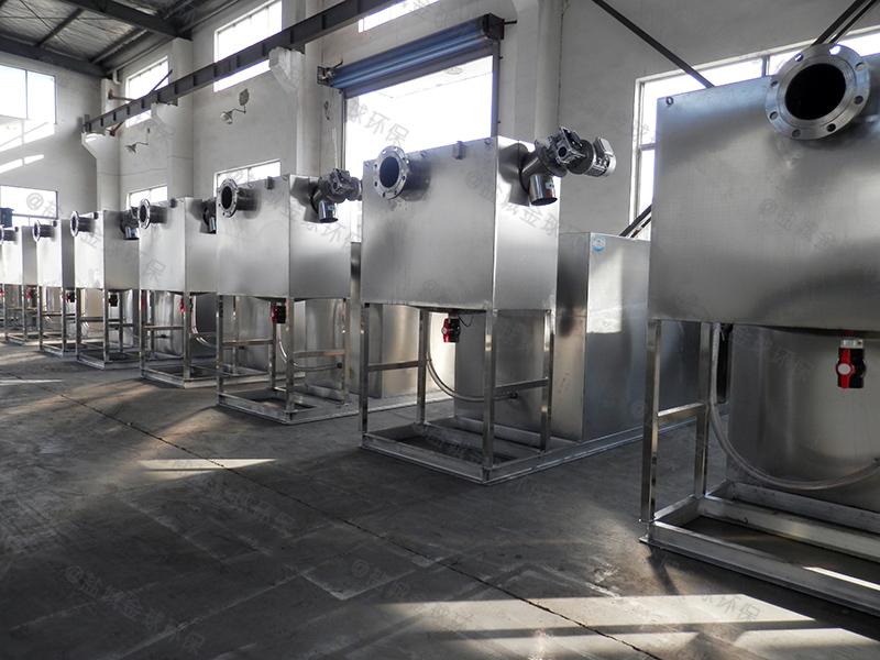 漯河酒店废水隔油设备设计