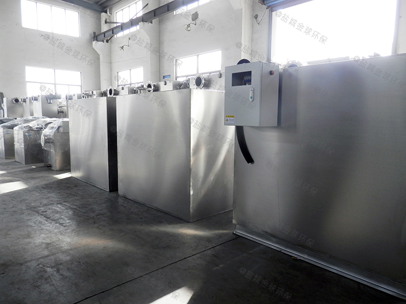 洛阳304不锈钢板隔油提升一体化设备图片