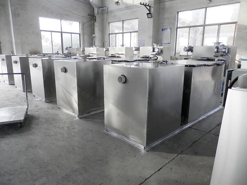 洛阳餐厨垃圾一体化隔油污水提升设备设计说明