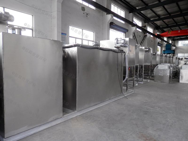 信阳餐饮泔水隔油提升一体化设备生产