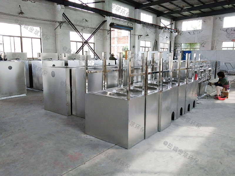 河南餐饮用一体化隔油提升设备施工方案