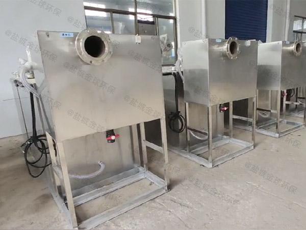 厨用地下室大自动化一体式隔油池改造公司