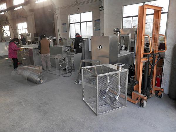 火锅店大型埋地组合式油水固相分离装置的型号