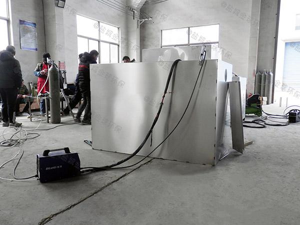 单位食堂埋地自动除渣污提及隔油设备怎么选