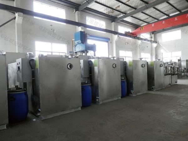 商家大地上移动式气浮式自动隔油器除油效率