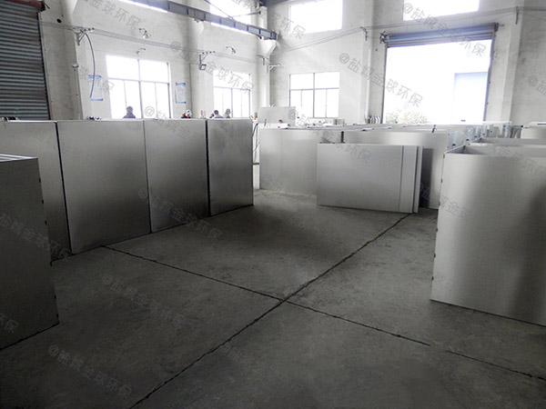 餐饮业室外大型全自动水油分离制造