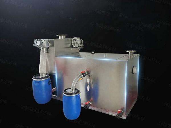 餐馆大地下式智能气浮式自动隔油器维护