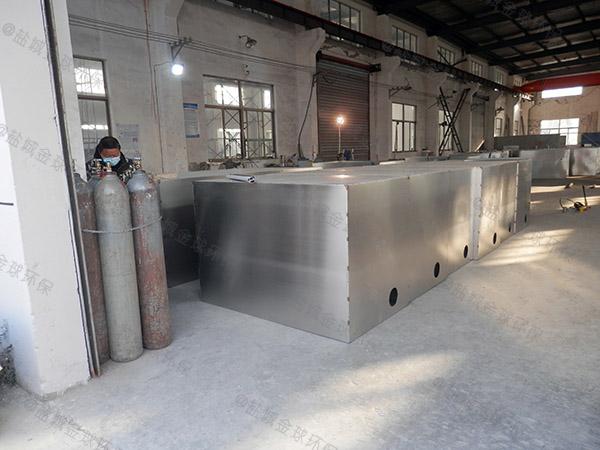 商用大型埋地式自动油水分离器一体化的做法