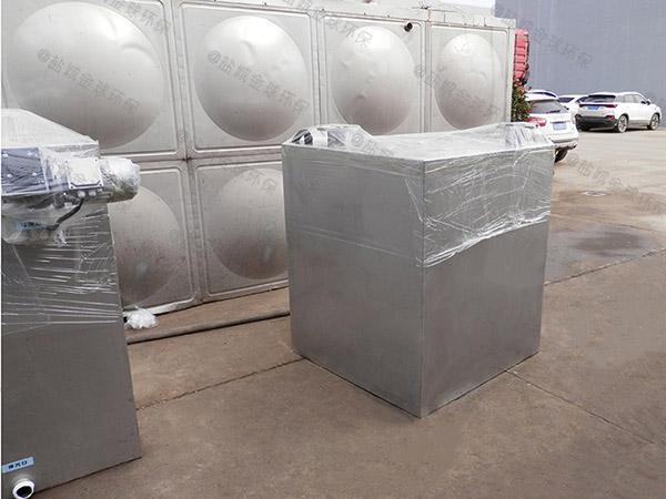 厨房用户外自动除渣油水固相分离装置厂家价格