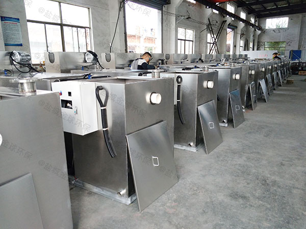 综合体埋地式智能化下水道油水分离器需要哪些设备