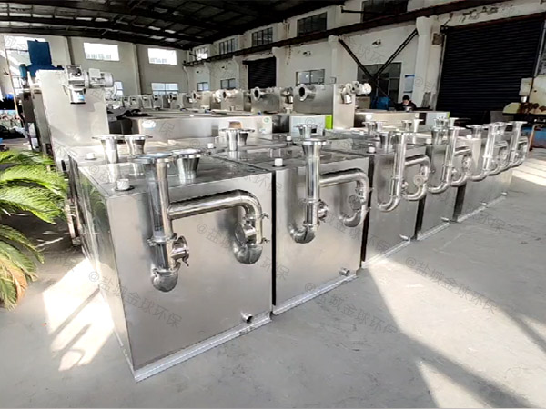 单位食堂埋地式中小型自动除渣污水油水分离设备用途