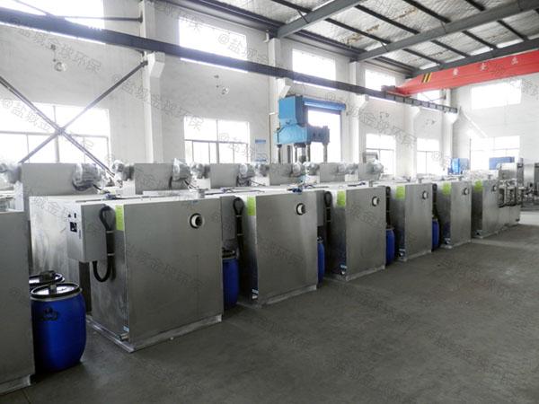小区大型分体式一体化隔油提升装置操作