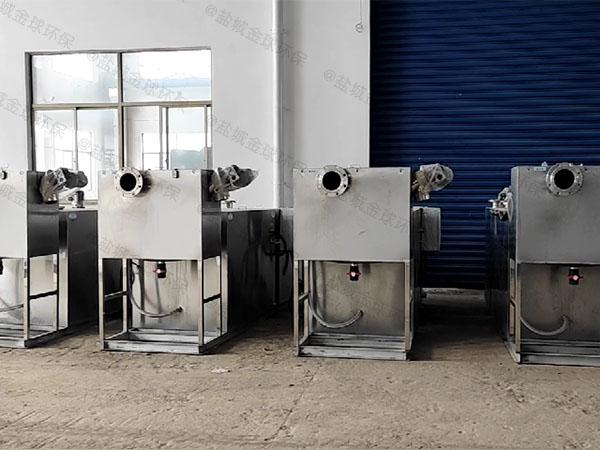 商场餐饮大型埋地式自动提升隔油提升一体化设备的组成