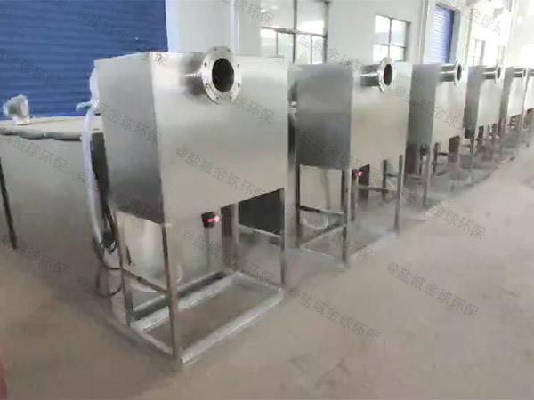 厨余大型室外全自动气浮式隔油设备怎么安装