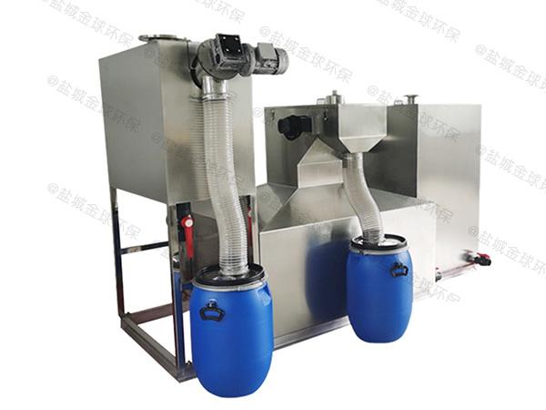 厨用大型地埋移动隔油除渣一体化设备招商