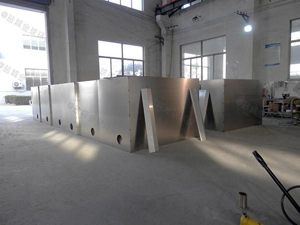 商用地上式大分体式隔油器自动提升装置的水如何排出