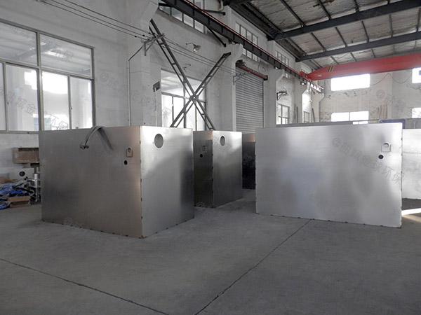 工厂食堂地下式移动式隔油污水提升装置在哪个位置