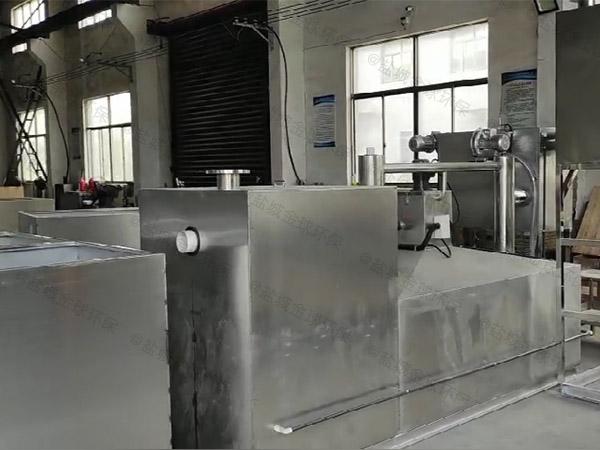 饭馆大型地埋式全自动智能型油水分离器隔渣池的去除效率