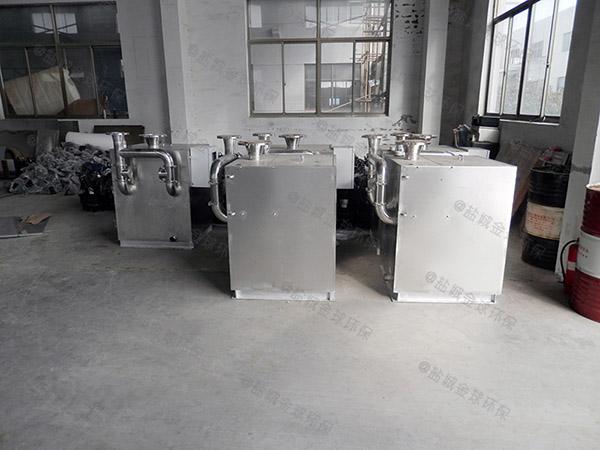 工地食堂中小型移动油水分离处置设备行业标准