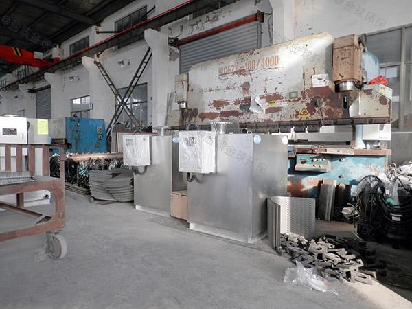 火锅户外大组合式垃圾处理器油水分离的效率