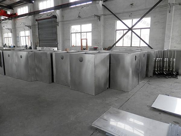 食堂用地上式多功能油脂分离装置直销