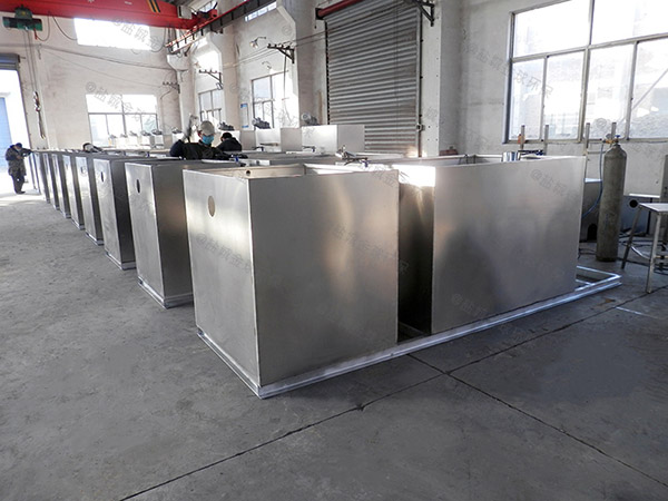 商用室内全能型隔油设施升级